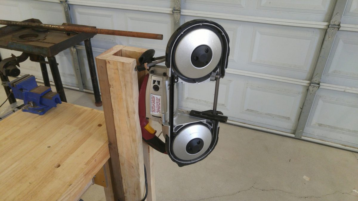 How To Make A Harbor Freight Portable Band Saw Stand (Cheap And Easy)
